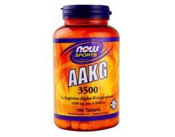 ААКГ 3500 (L-Аргинин-альфакетоглютарат) / ААКG 3500, Now Foods