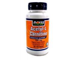 Ацетил-L-Карнитин / Acetil-L-Carnitin, Now Foods