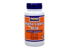 Альфа-липоевая кислота / Alpha Lipoic Acid, Now Foods