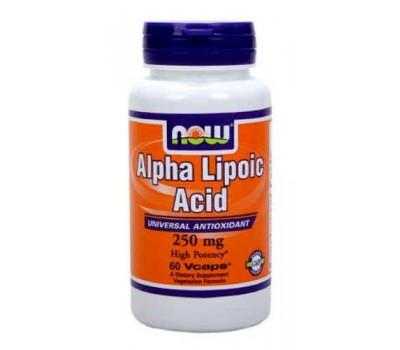 Альфа-липоевая кислота / Alpha Lipoic Acid, 250 mg