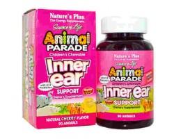 Анимал Парад Иннер Еар / Поддержка Внутреннего уха  / Animal Parade Inner Ear Support, Nature's Plus