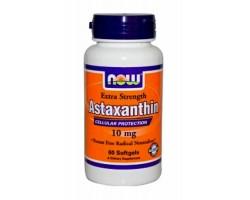 Астаксантин 10 мг / Astaxanthin 10 mg, Now Foods