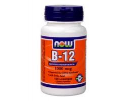 Витамин B-12 / B-12, 1000 mcg, Now Foods