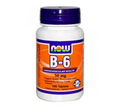 Витамин B-6 / B-6, 50mg