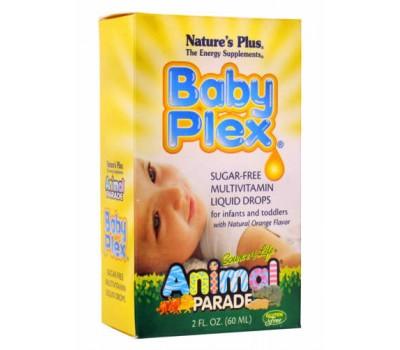 Анимал Парад Беби Плекс / Animal Parade Baby Plex Sugar free Multivitamin liquid droos