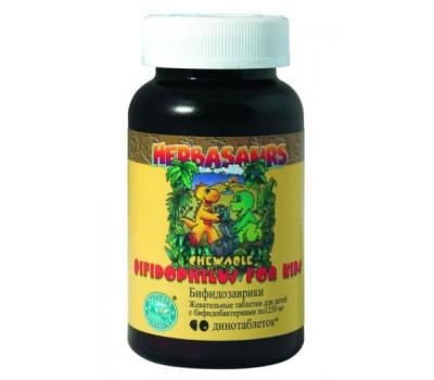 Бифидозаврики / Bifidophilus Chewable for Kids ( Bifidosaurs)
