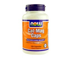 Кал-Маг / Cal-Mag Caps, Now Foods