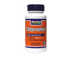 Хлорофилл в капсулах / Chlorophyll, Now Foods