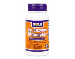 Ко-Энзим В-Комплекс / Co-Enzyme B-Complex, Now Foods