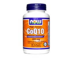 Кофермент Q10 / CoQ10 ( Coenzyme Q10), 400 мг, Now Foods.