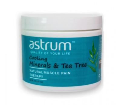 Обезболивающий терапевтический Минеральный гель с маслом Чайного дерева охлаждающий / Cooling Mineral Gel Tea Tree Muscle Pain Therapy, 4 oz