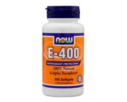 Витамин E-400 / Е-400, Now Foods