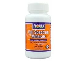 Минеральный комплекс / Full Spectrum Minerals, Now Foods