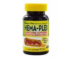 Хема Плекс / Hema-Plex, 60 капсул, Natures Plus