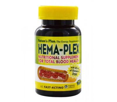 Хема Плекс / Hema-Plex, 60 капсул