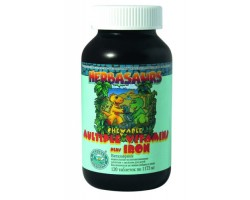 Витазаврики / Herbasaurs Chewable Multiple Vitamins plus Iron, NSP