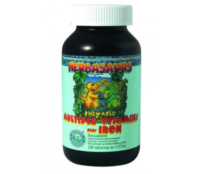 Гербазаврики / Витазаврики / Herbasaurs Chewable Multiple Vitamins plus Iron