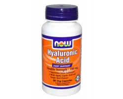 Гиалуроновая кислота в капсулах / Hyaluronic Acid, Now Foods