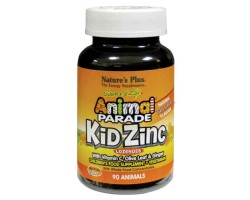 Анимал Парад Кид Цинк Лозенгес  / Animal Parade Kid Zinc Lozenges, Natures Plus