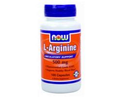 Аргинин / L-Arginine, Now Foods