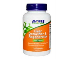 Ливердетокс / Liver Detoxifier & Regenerator, Now Foods
