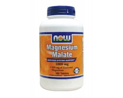 Магний / Magnesium Malate, Now Foods
