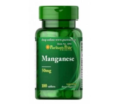 Марганец  50 мг / Manganese 50 mg