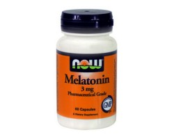 Мелатонин 3 мг / Melatonin 3 mg, Now Foods