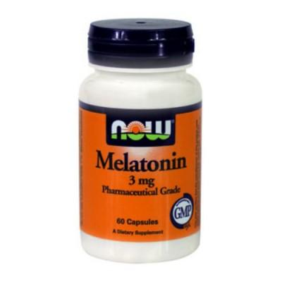 Мелатонин 3 мг / Melatonin 3 mg