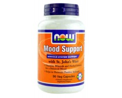 Поддержка настроения / Mood Support With St Johns Wort, Now Foods