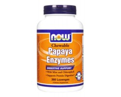 Папайя Энзимы / Papaya Enzymes, Now Foods