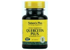 Кверцетин Плас  / Quercetin Plus with Bromelain Vitamin C, Natures Plus