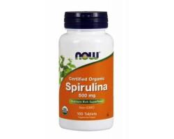 Спирулина / Spirulina 500 mg, Now Foods