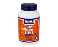 Супер Омега 3-6-9 / Super Omega 3-6-9, Now Foods