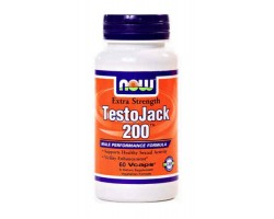 Тесто Джек 200 / TestoJack 200, Now Foods