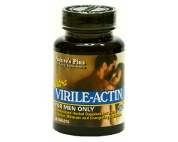 Ультра Вирил Актин (только для мужчин) / Ultra Virile Actin (for Men only), Natures Plus