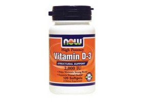 Витамин Д3 2000 МЕ / Vitamin D3 2000 IU, Now Foods